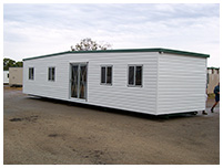 Transportable building sales prefab queensland for Prefab barns with living quarters